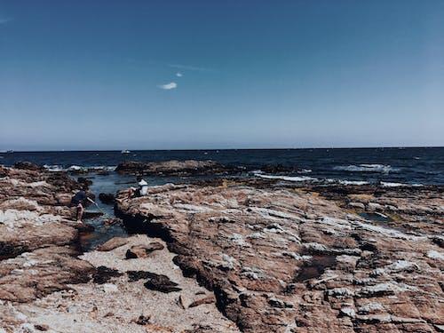 갈색 색상, 개략적 인, 바다, 복숭아의 무료 스톡 사진