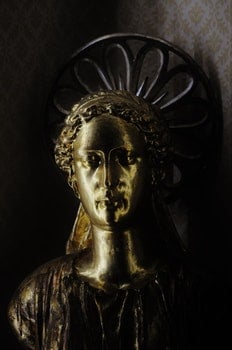 Free stock photo of sculpture, gold, golden, angel