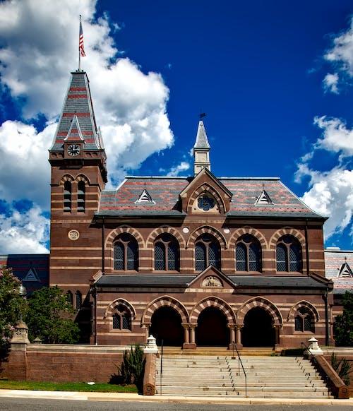 Δωρεάν στοκ φωτογραφιών με gallaudet πανεπιστήμιο, αίθουσα εκκλησιών, αρχιτεκτονική, διάσημος