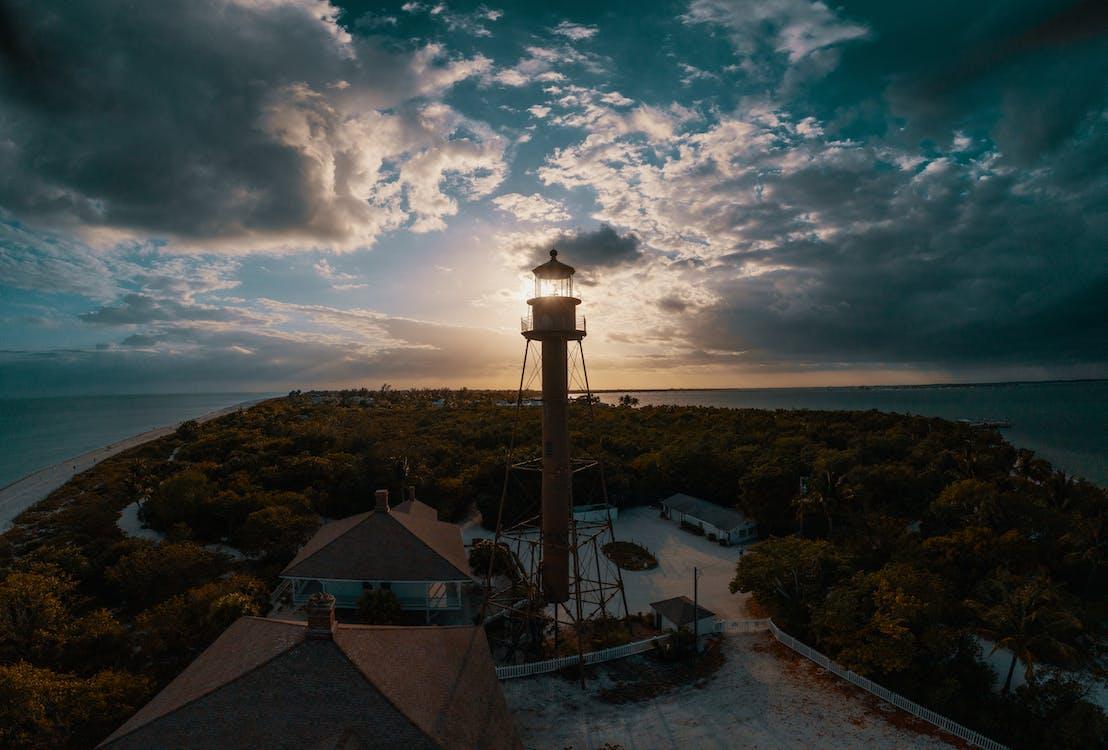 Widok Z Lotu Ptaka Zdjęcie Wieży