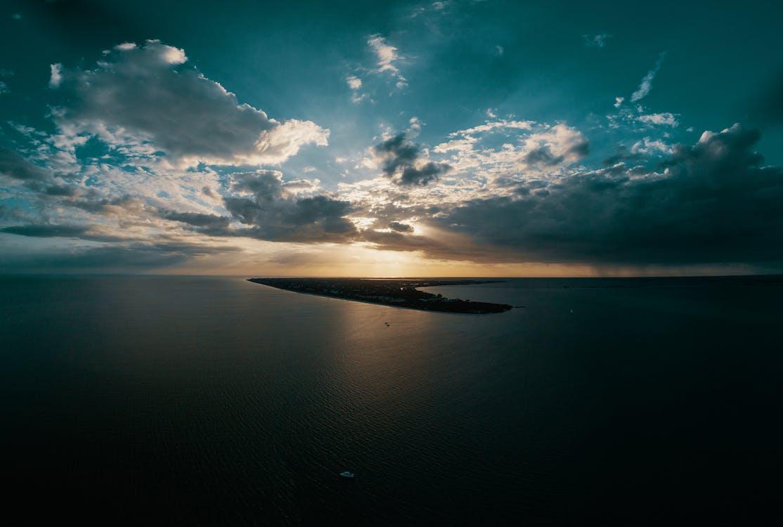 açık hava, ada, akşam
