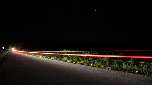 Free stock photo of car, long exposure, night, stars