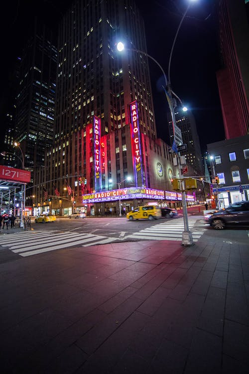 Free stock photo of manhattan, neon, neon light, new york