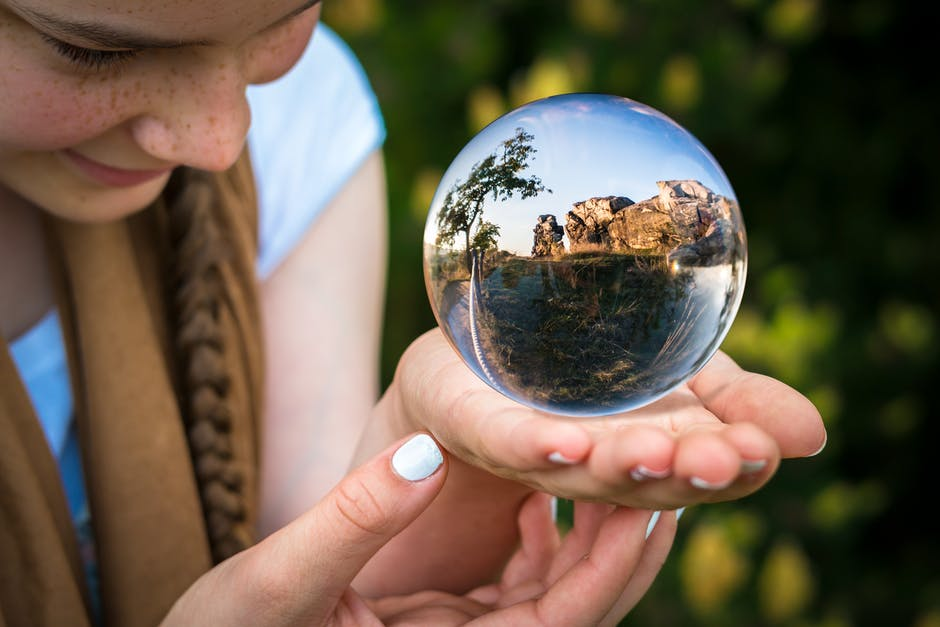 Image result for world in hand