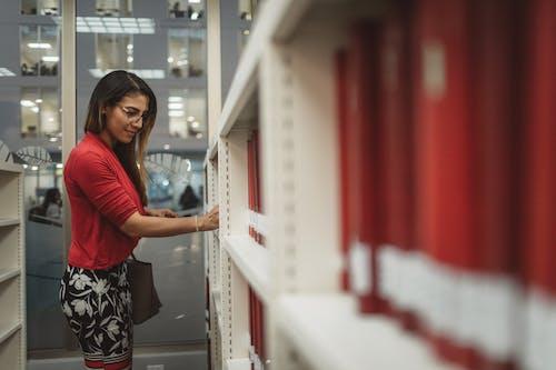 Kostenloses Stock Foto zu bibliothek, bücherregal, drinnen, einkaufen