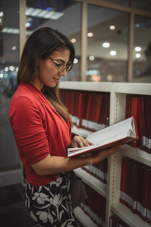 人, 圖書, 圖書館