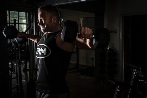 Kostnadsfri bild av bodybuilding, gym, ha på sig, handling