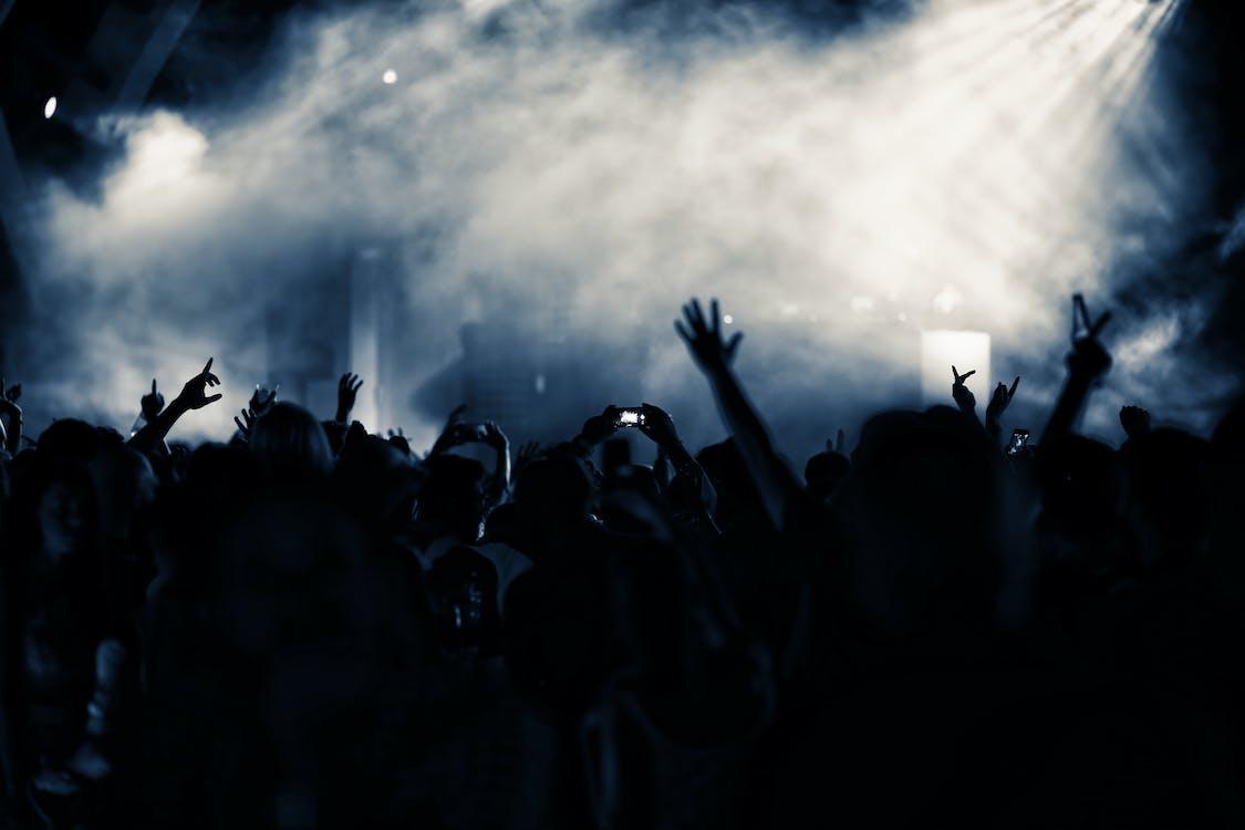 Аудиторія, вечір, вечірка
