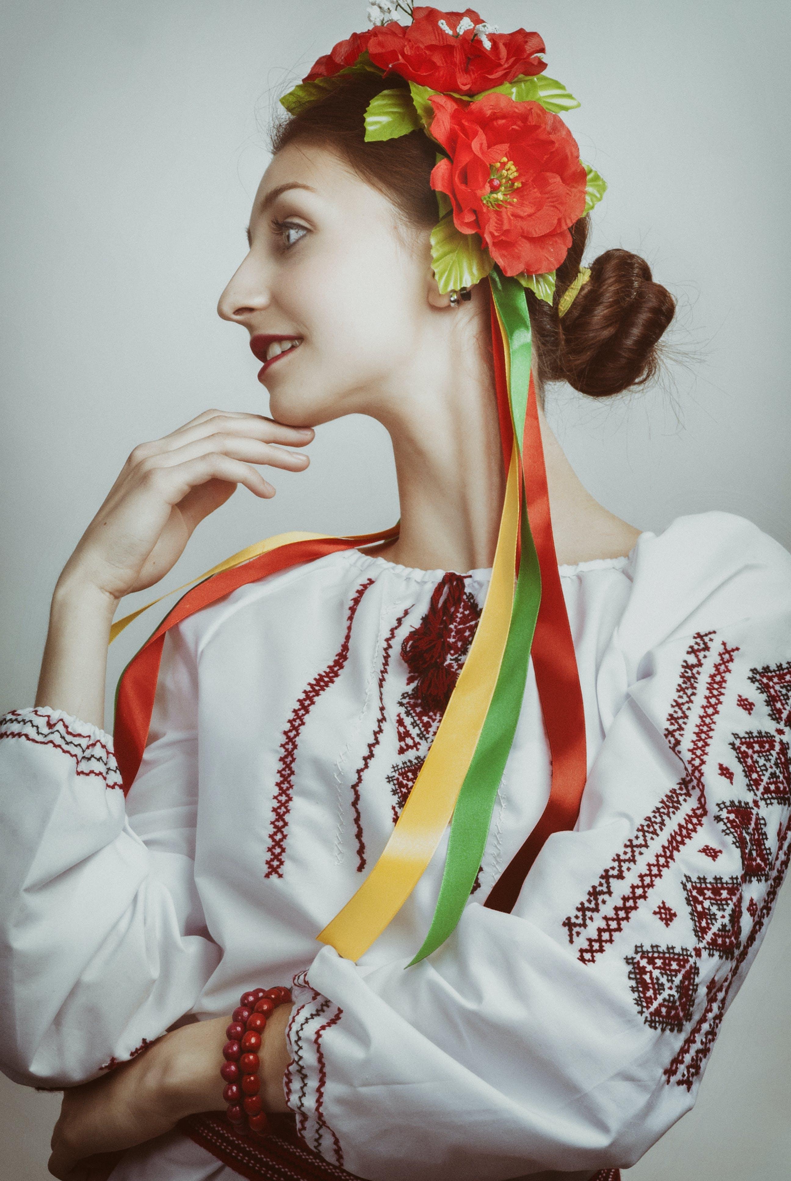 Základová fotografie zdarma na téma hezký, krása, krásný, květinový věneček