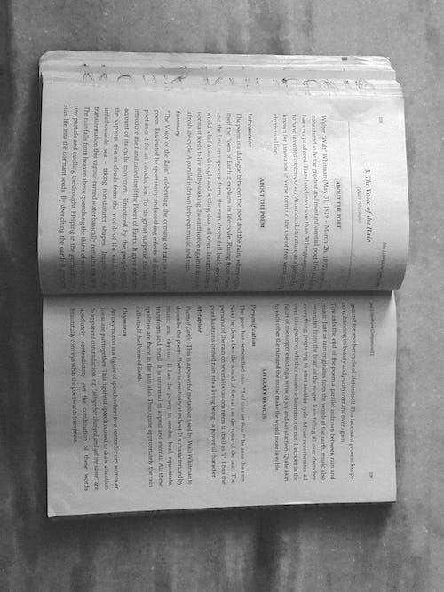 Gratis lagerfoto af engelsk bog, litteratur