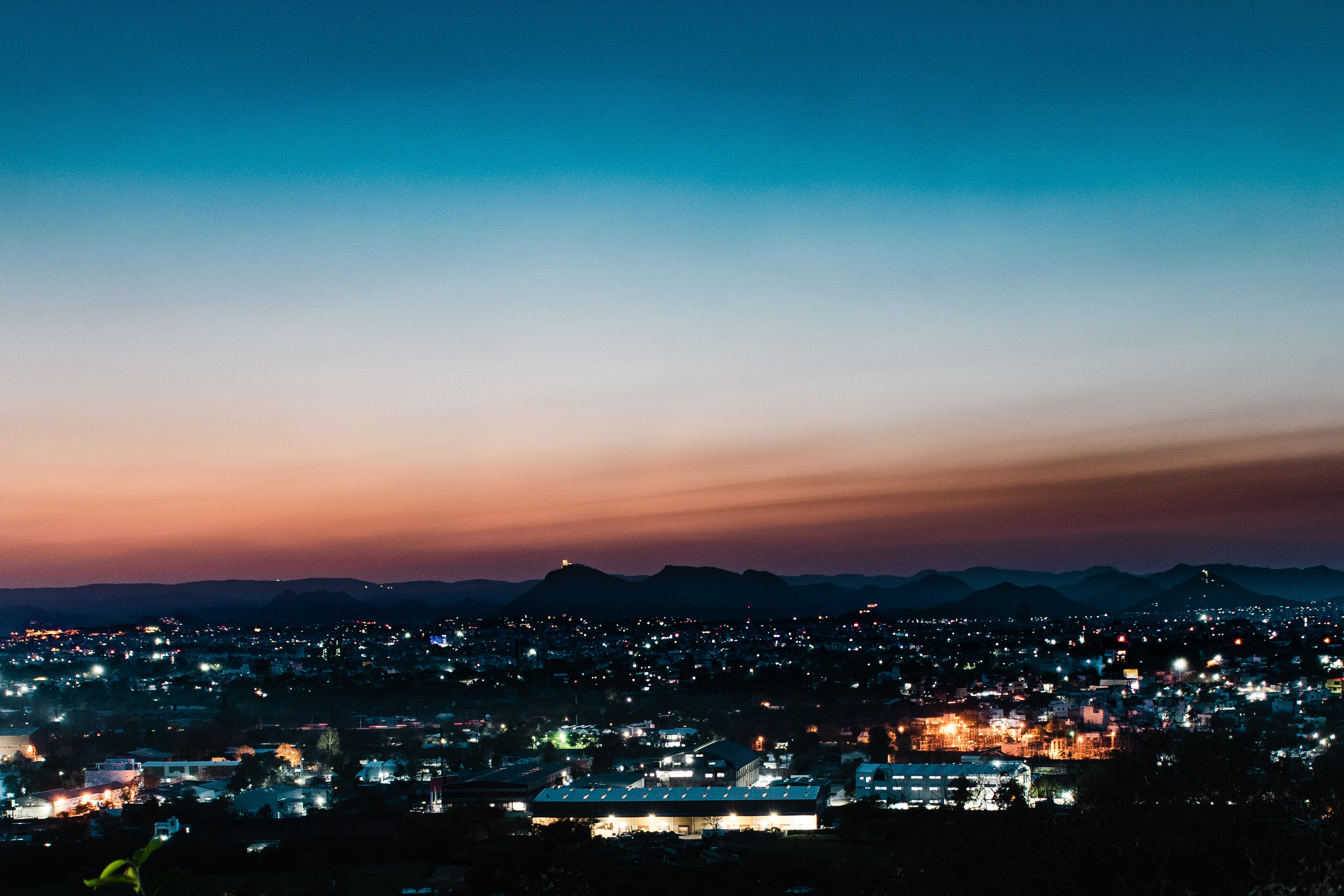 Základová fotografie zdarma na téma hory, noční snímek