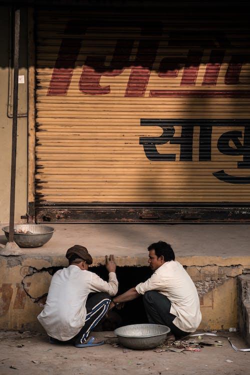 インド, スチールシャッター, スラム街, 修復の無料の写真素材
