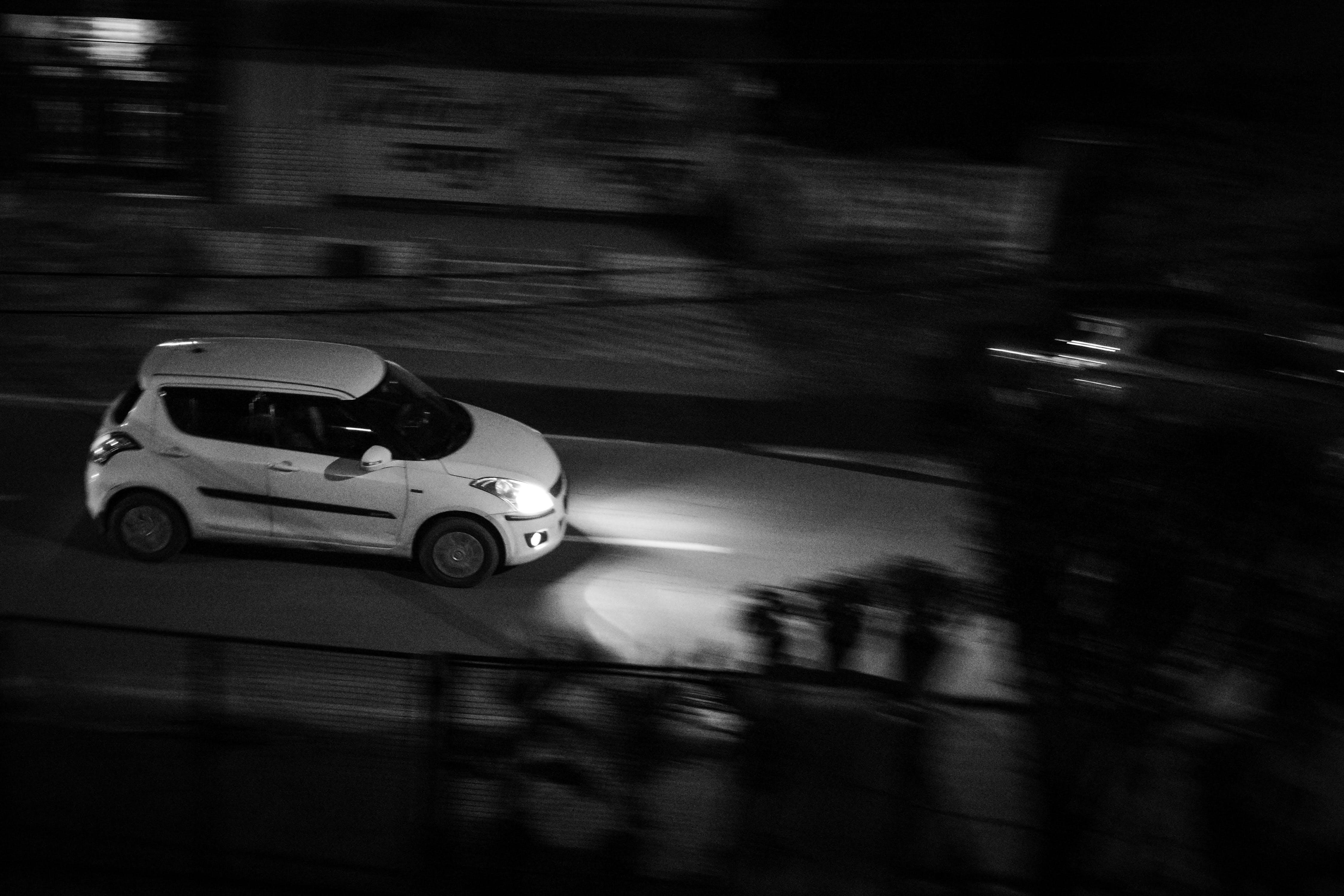 Základová fotografie zdarma na téma auto, panoramatický snímek, rychlý