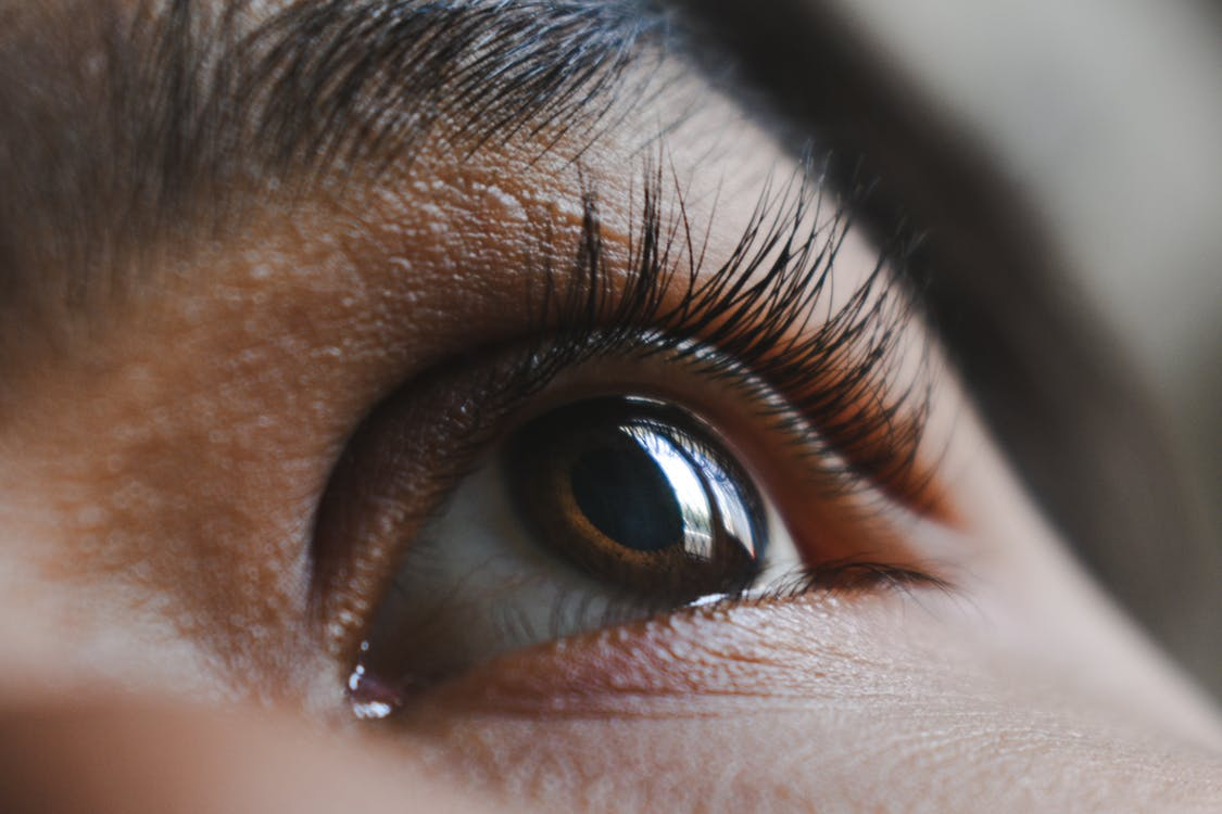 Person's Left Eye