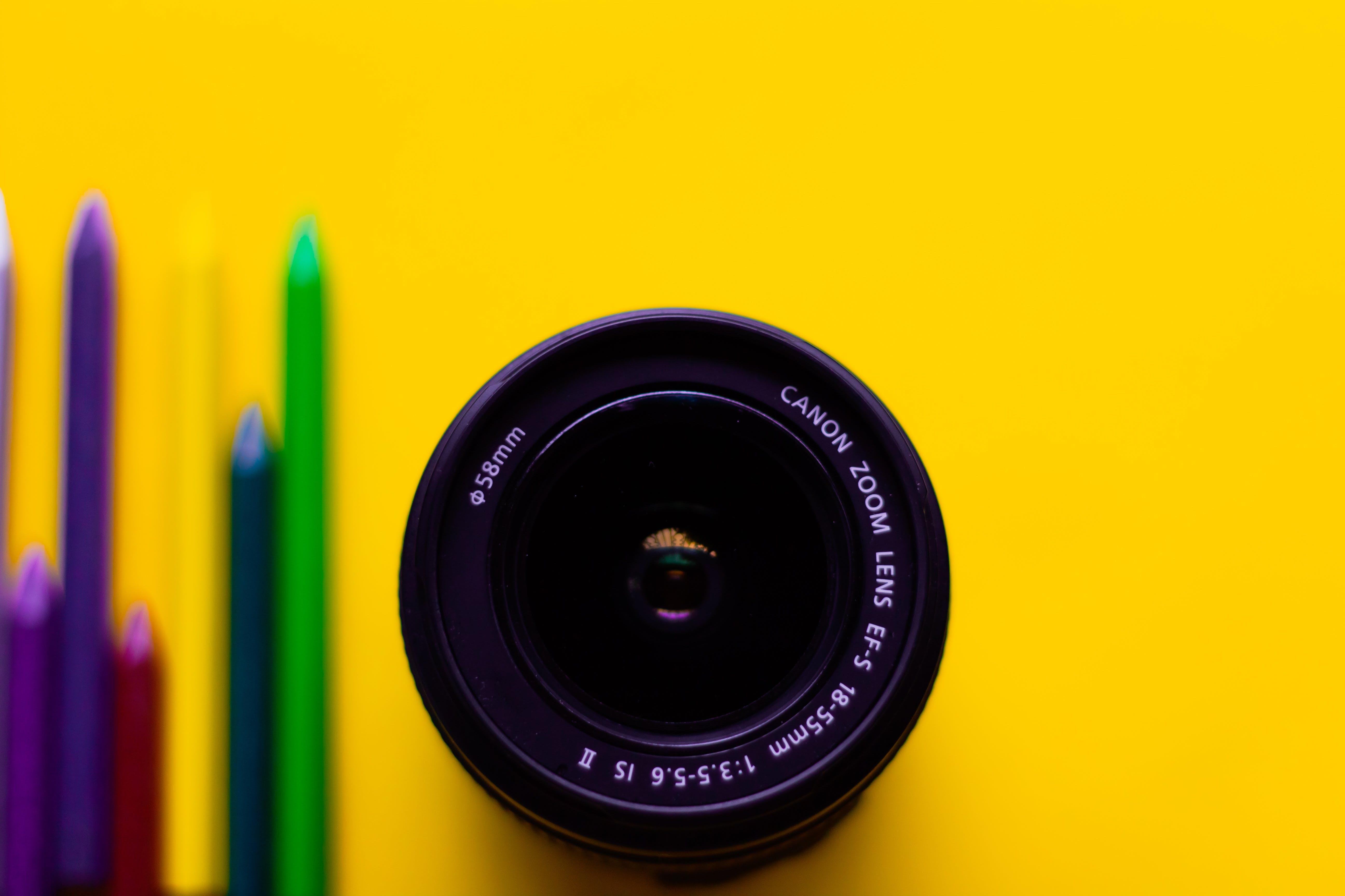 Foto profissional grátis de amarelo, aparelhos, aproximação, arte
