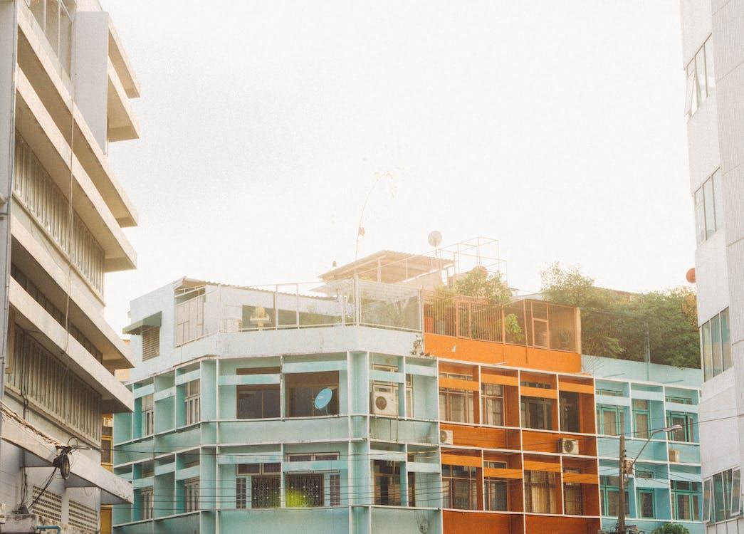 apartmány, architektonický dizajn, architektúra