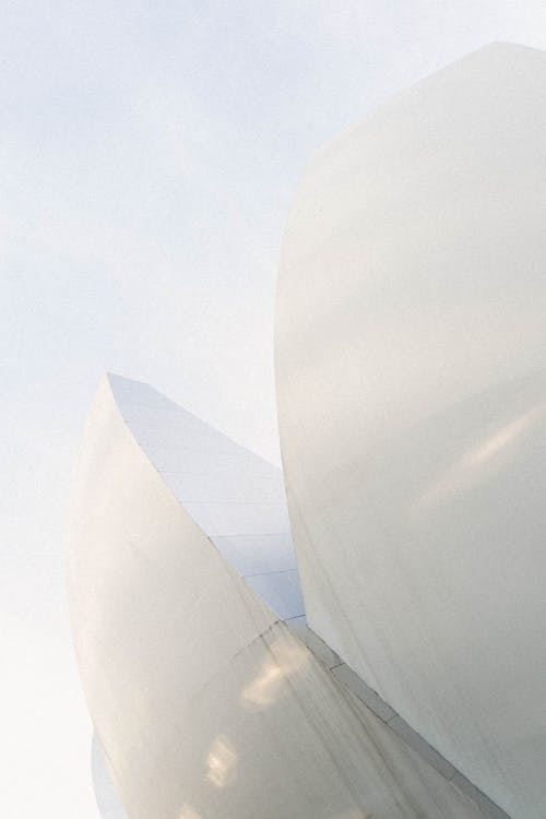 Základová fotografie zdarma na téma architektura, barva, bílá, bílé pozadí