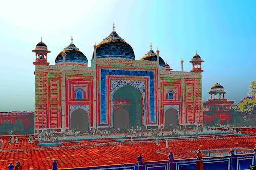 Základová fotografie zdarma na téma chrám, indický, kopule, oblouky