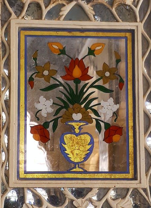 Základová fotografie zdarma na téma květiny, váza, zrcadlo