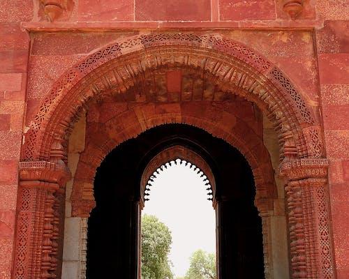 Základová fotografie zdarma na téma brána, chrám, kámen, oblouk