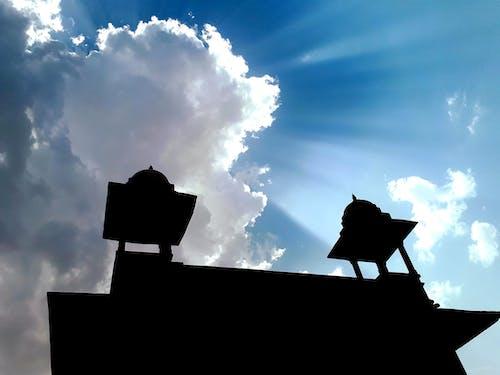 Základová fotografie zdarma na téma bouře, chrám, mraky, obloha
