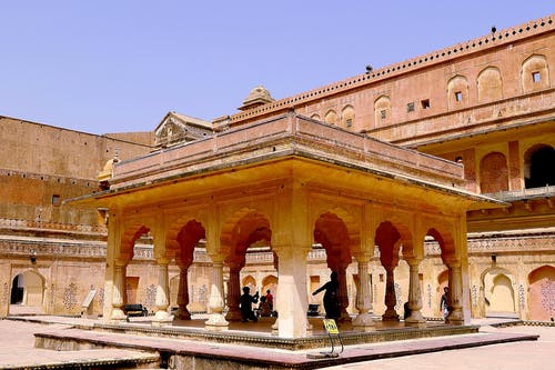 Základová fotografie zdarma na téma indický, oblouky, palác, pevnost