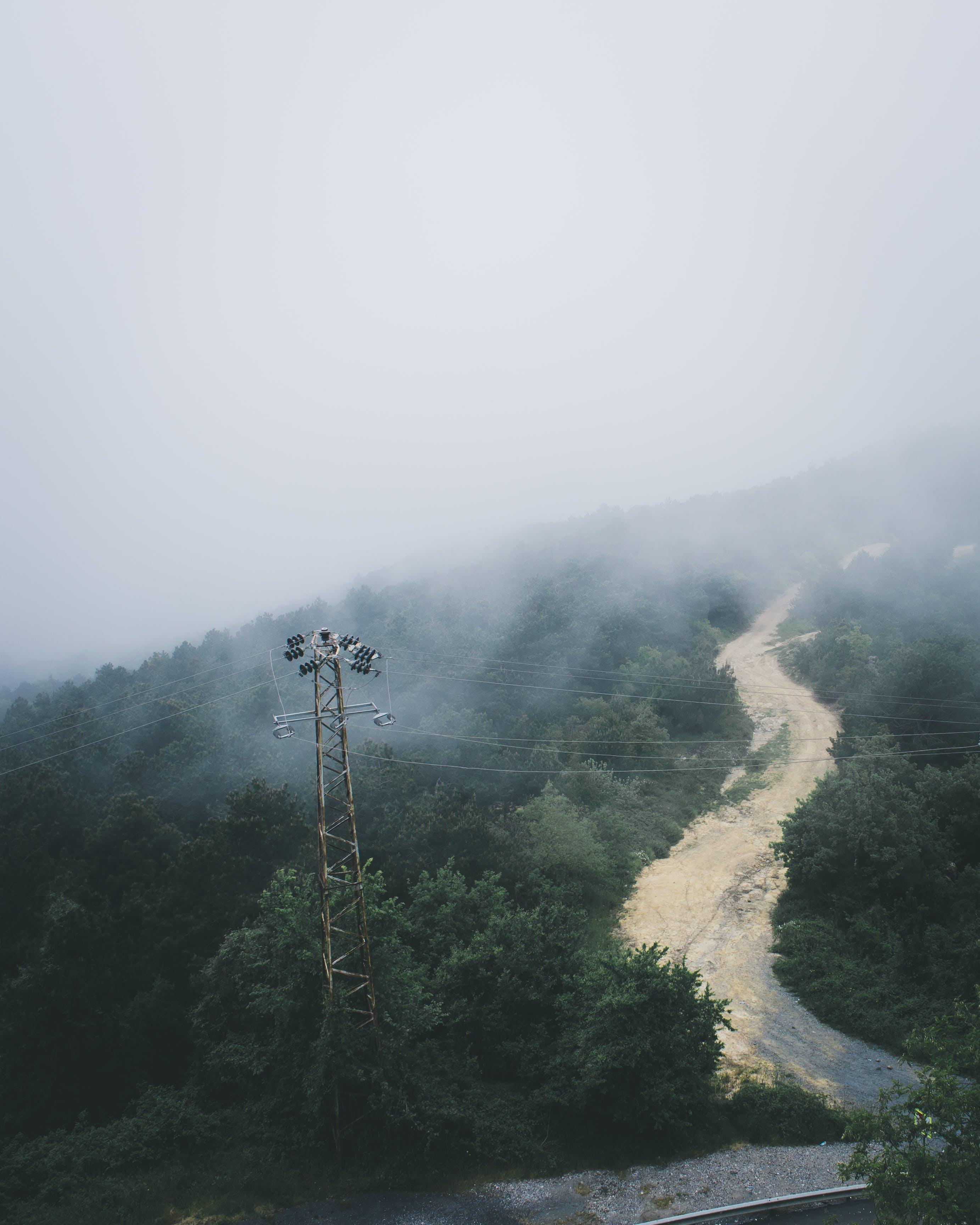 Foto stok gratis alam, berkabut, cuaca, gunung