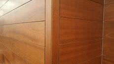 wood, wall, house