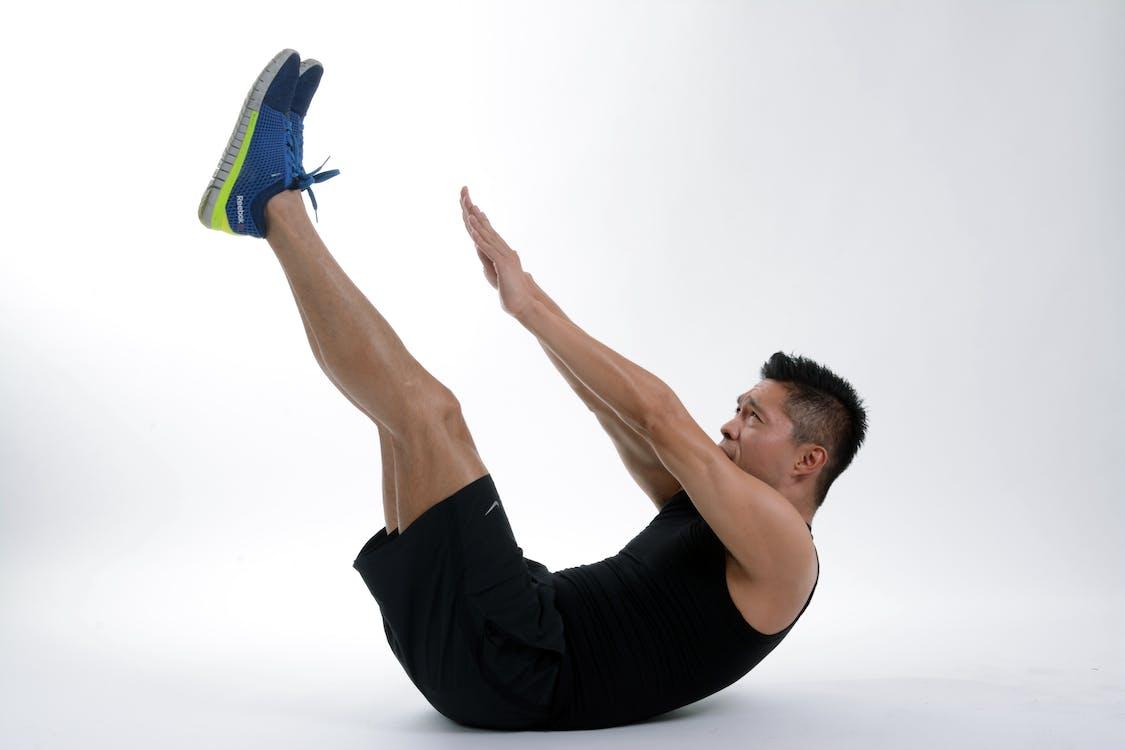 Man Making Workout Exercise