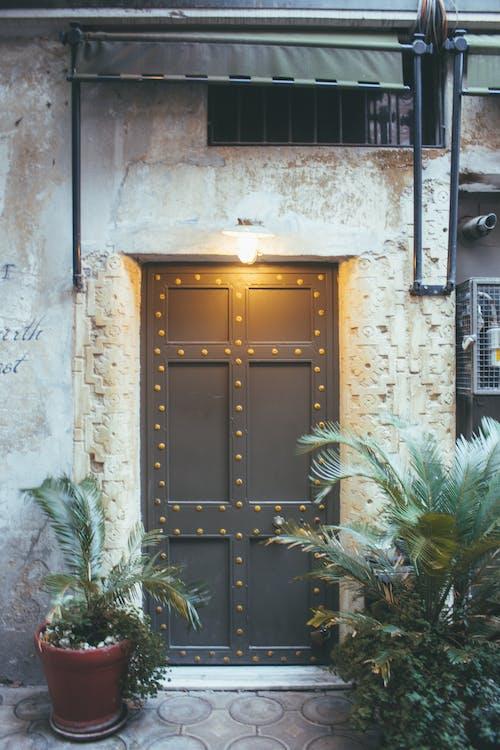 エントランス, ドア, 光, 外観の無料の写真素材