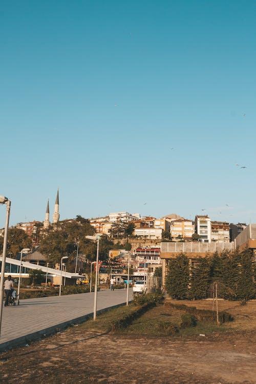 거리, 건물, 건축, 경치의 무료 스톡 사진