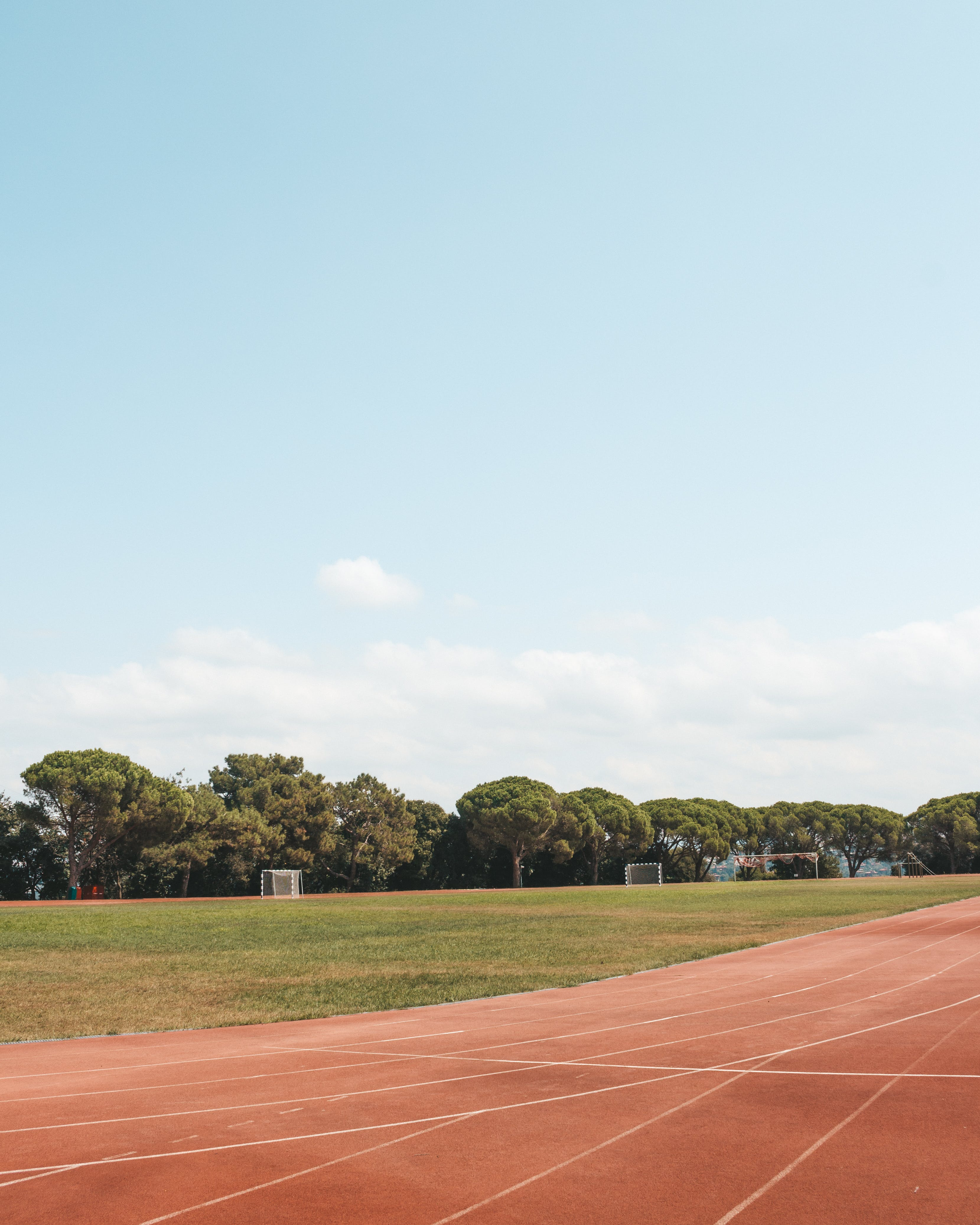 de área, track and field