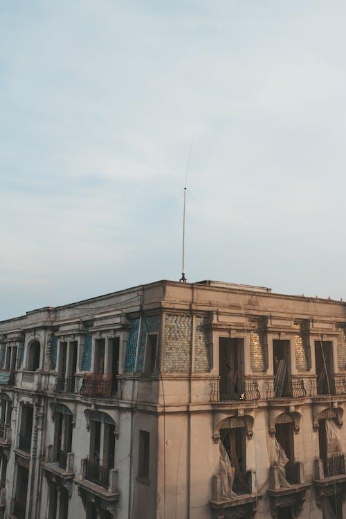 건물 외관, 건축, 고대의, 관광의 무료 스톡 사진
