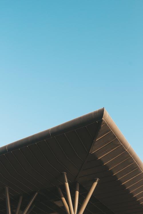 低角度拍攝, 外觀, 建築