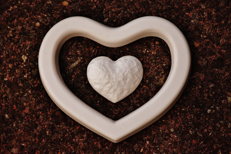 Δωρεάν στοκ φωτογραφιών με αγάπη, αλέθω, άμμος, καρδιά