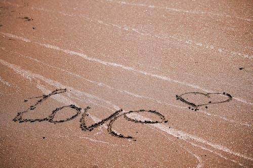 Ingyenes stockfotó emberek, fogalmi, homok, írásos témában