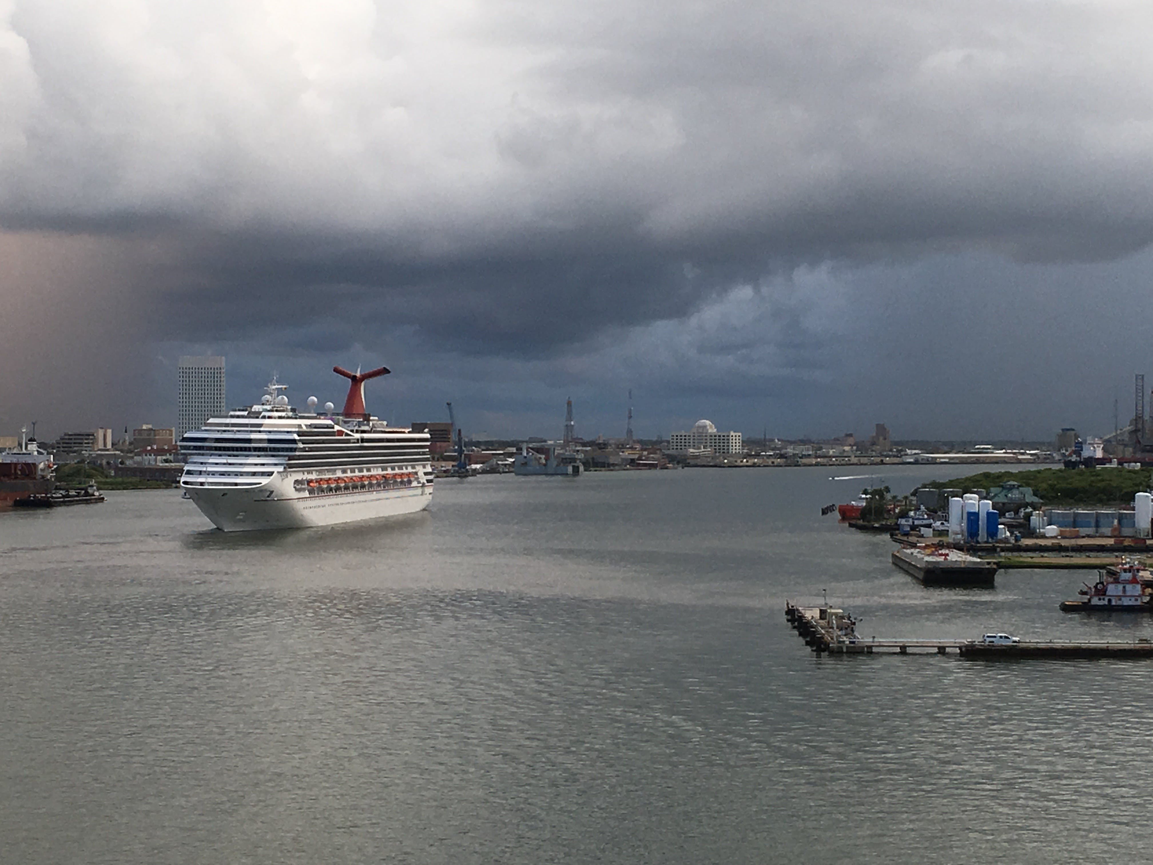 Gratis lagerfoto af havn, krydstogtskib, storm, vand