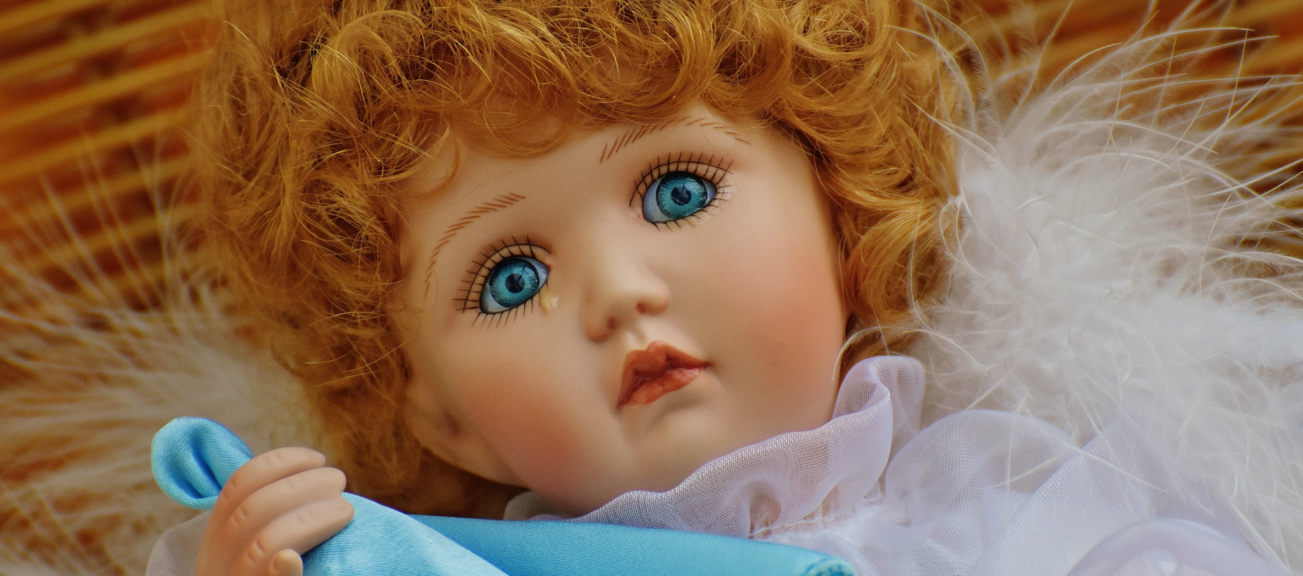 Free stock photo of angel, children, collector's doll, cute