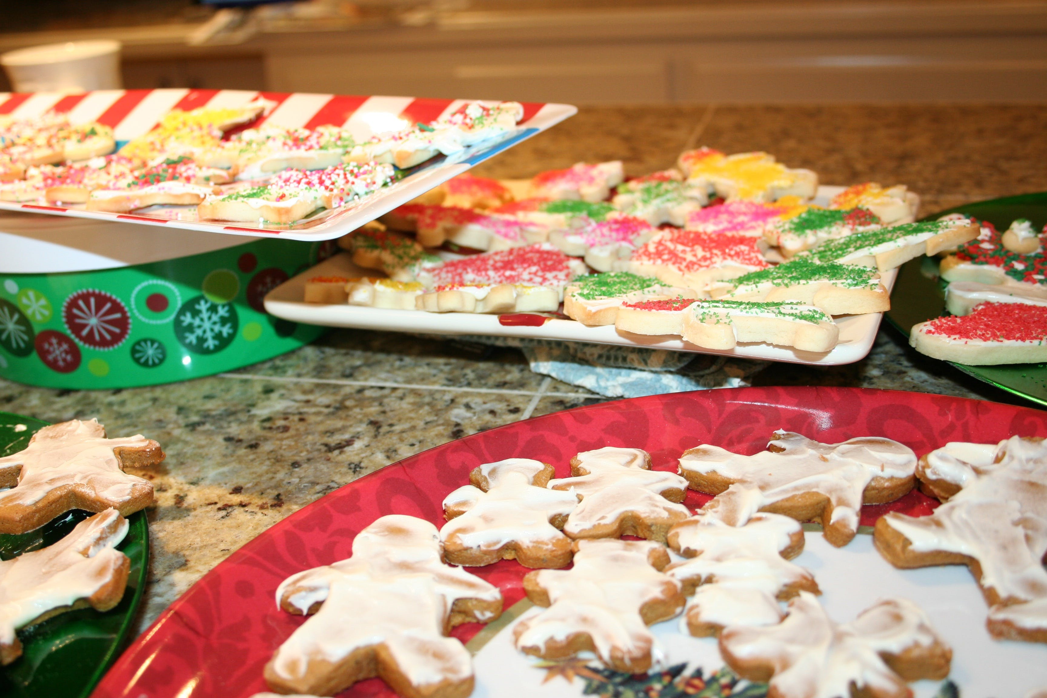 Gratis lagerfoto af honningkage, jul, julekager, sukkerkager