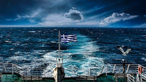 Fotos de stock gratuitas de ferry, movimiento, océano azul