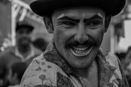 Foto d'estoc gratuïta de alegria, Brasil, circ, palhaço