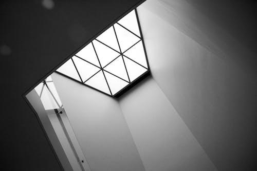 Δωρεάν στοκ φωτογραφιών με αρχιτεκτονικό σχέδιο, ασπρόμαυρο, γεωμετρικός, κτήριο