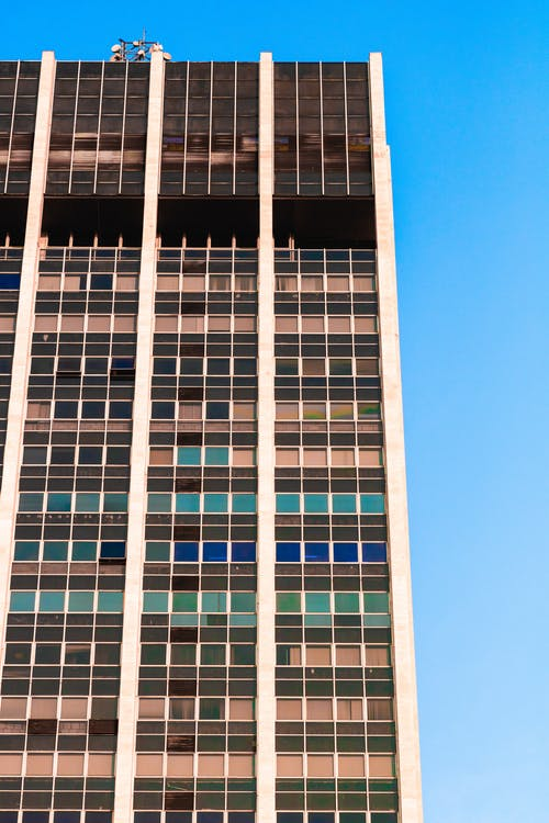 คลังภาพถ่ายฟรี ของ ตอนกลางวัน, ตึกระฟ้า, ภายนอกอาคาร, มุมมอง