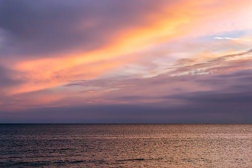 #doğa, Akşam gökyüzü, altın saat, altın ufuk içeren Ücretsiz stok fotoğraf