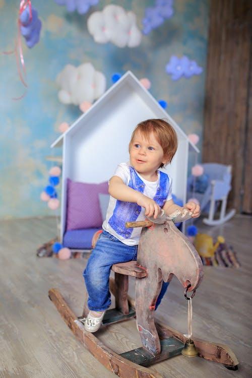 Ingyenes stockfotó aranyos, baba, beltéri, boldogság témában