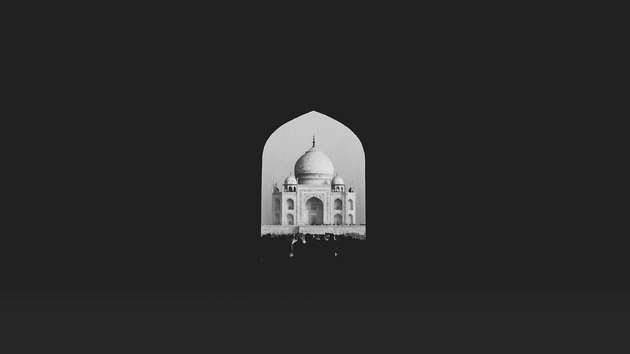 Taj Mahal, India Digital Wallpaper