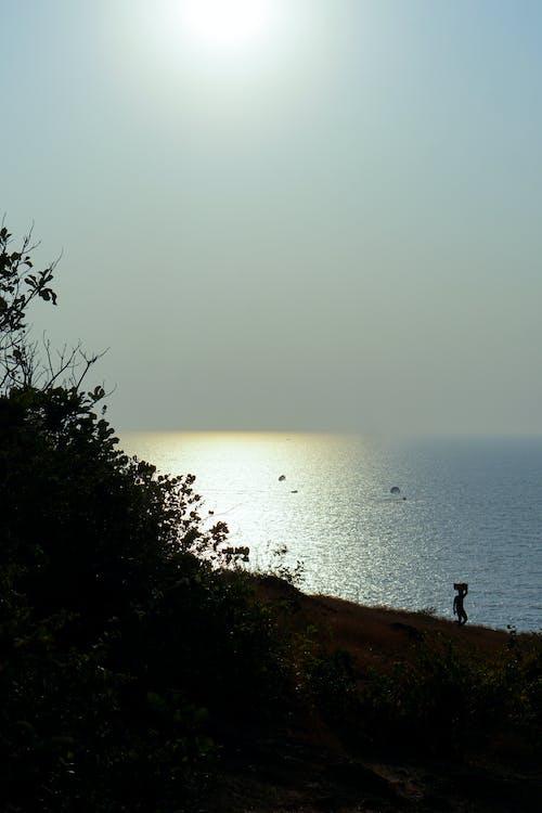 Gratis stockfoto met blauwe oceaan, fotografie, goa, hemel