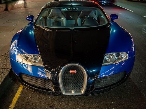 Free stock photo of blue, bugatti, bugattiveyron, car