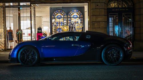 Darmowe zdjęcie z galerii z bugatti, bugatti veyron, londyn, miasto nocą