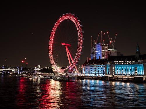 Free stock photo of blue, london, london bridge, london eye